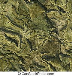 bergen, luchtopnames, natuur, seamless, textuur, lucht, achtergrond., schaaf, groene, illustratie, aanzicht, 3d