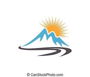 bergen, mal, logo