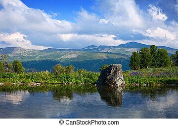bergen, meer