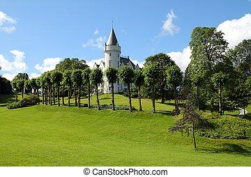 Bergen, Norway - Bergen - famous town in Hordaland county,...
