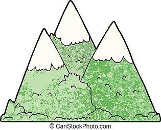 bergen, spotprent