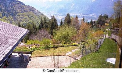 bergen, tandrad, uphill., geleider, zwitserland, trein,...
