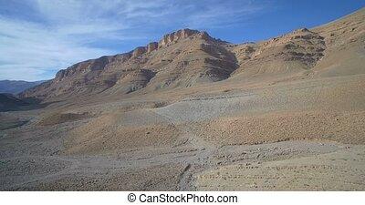 bergig, Luftaufnahmen, marokko,  tamtetouchte, episch, landschaftsbild