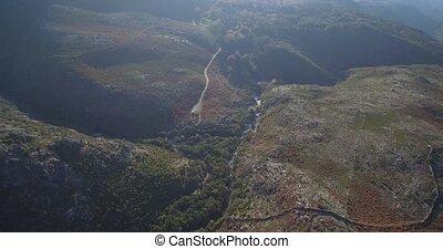 bergig,  portugal,  parque, fliegendes, Luftaufnahmen,  Nacional,  peneda-geres, landschaftsbild