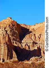 bergkette, tal, park, landschaftsbild, national, tod