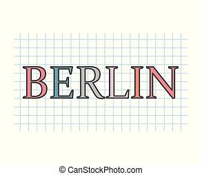 berlín, concepto