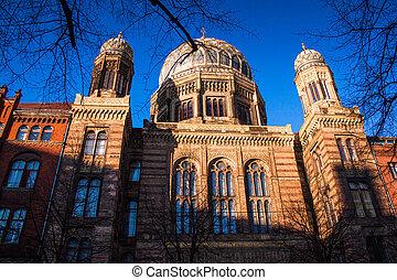 berlín, sinagoga