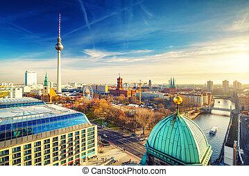 berlín, vista aérea