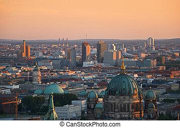 berlin aerial image