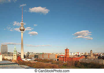 Berlin Alexander Platz - Berlin, Alexander Platz viewed from...