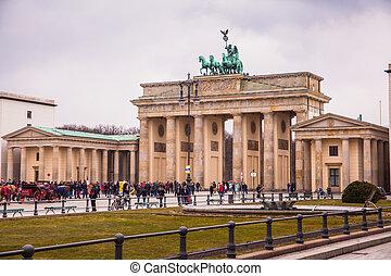 berlin, brandenburg poort