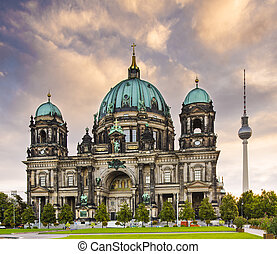 Berlin Cathedral - Cathedral of Berlin, Germany.