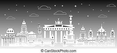 Berlin City gradient 3