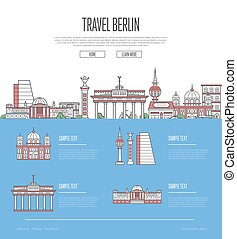Berlin city travel vacation guide with most important...