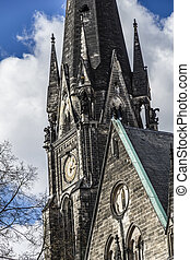 berlin, detail-view, kirche