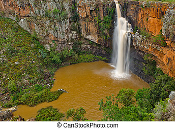 Berlin falls, South Africa - Berlin waterfall, South Africa,...