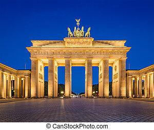 Brandenburg Gate - Berlin, Germany at Brandenburg Gate.