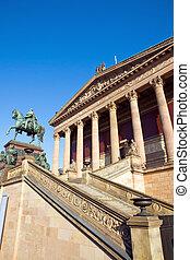 Berlin landmark Old Nationalgallery
