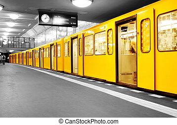 berlin, metro, u-bahn