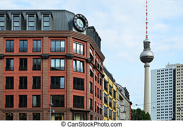 Berlin rental Appartments City Houses with TV Tower, Old and...