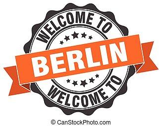 Berlin round ribbon seal
