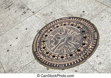 Berlin Sewer Cover