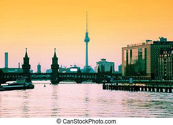 berlin, skyline
