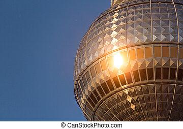 Berlin television tower (Fernsehturm),