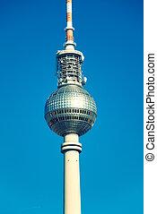 Berlin telvision tower