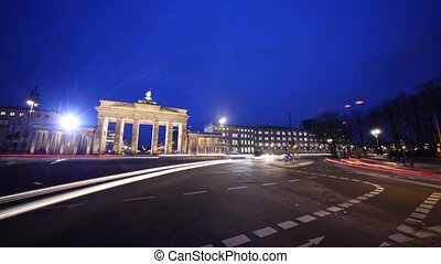 Berlin Timelapse of Brandenburg Gate - Timelapse ? Berlin...
