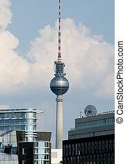 Berlin TV Tower - TV and Radio Tower Berlin Alexanderplatz