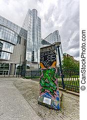 Berlin Wall - Brussels, Belgium