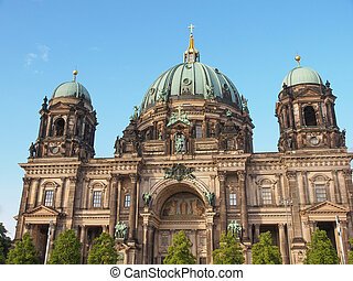 Berliner Dom cathedral church in Berlin Germany