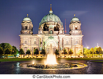 Berliner Dom, is the colloquial name for the Supreme Parish...