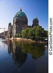 Berliner Dom - Neo-Baroque cathedral standing in the heart...