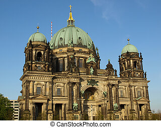 Berliner Dom cathedral church in Berlin, Germany