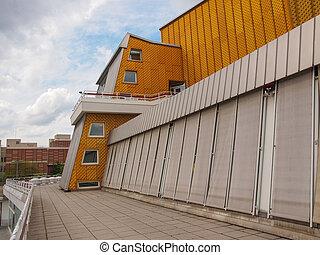 The Berliner Philarmonie concert hall in Berlin Germany