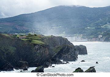 Bermeo, Basque Country, Spain: Monastery of San Juan de Gaztelugatxe