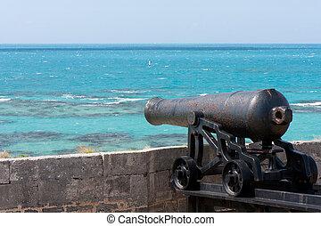 Bermuda canon - Canon at The Commissioner's House in Bermuda