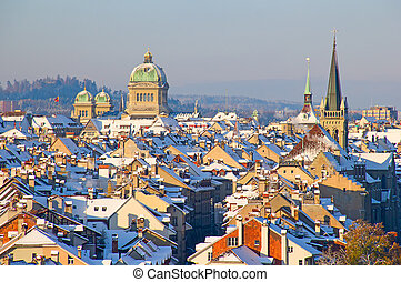 Bern in winter