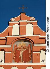 Bernardine church in Vilnius, Lithuania