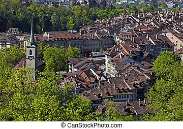berne, cityscape, suisse