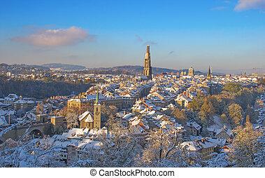 berne, hiver