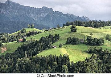 Bernese Oberland - Swiss landscape - Bernese Oberland...