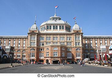 beroemd, hollandse, hotel