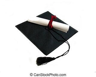 berretto, e, diploma