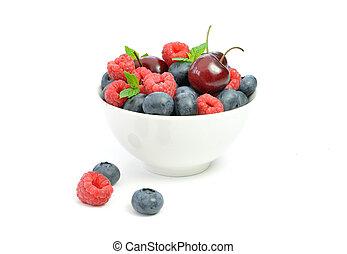 Berries in a bowl