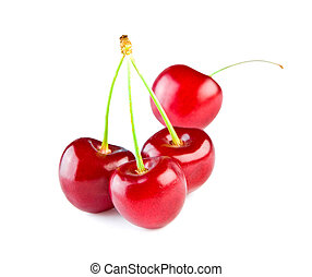 Berries of a cherry