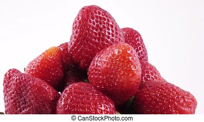 Berries of a strawberry