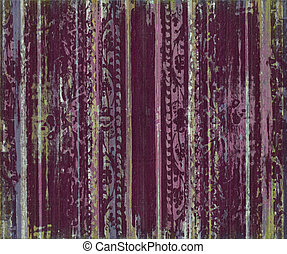 Berry grungy scroll work wood stripes textured background